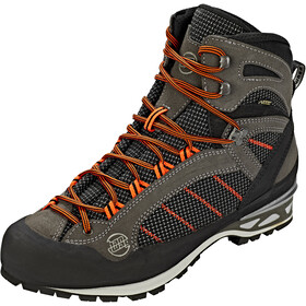 Hanwag Makra Combi GTX Shoes Herren asphalt/orange